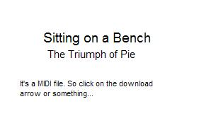 The Triumph Of Pie by deathcomestotime