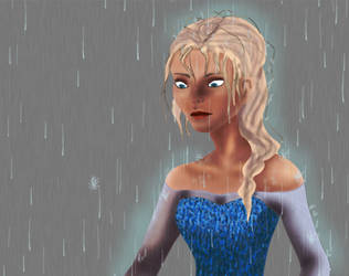 Elsa and Pitch Gif (animation) by sasuhina123