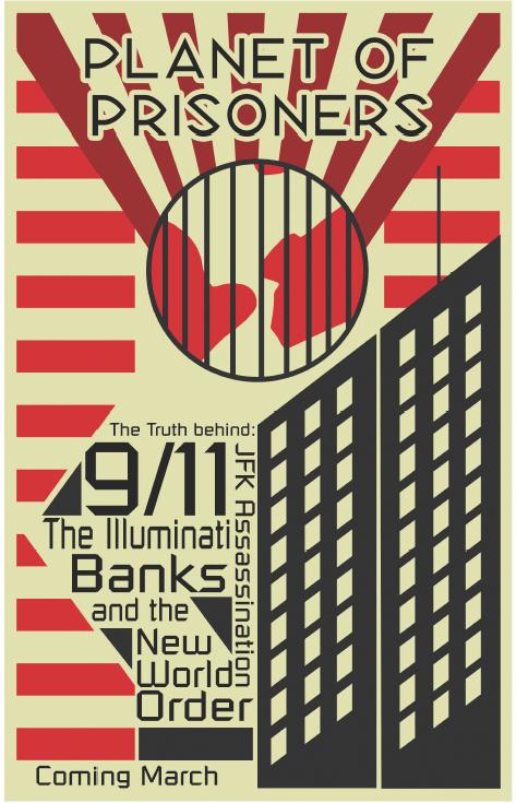 Planet of Prisoners Movie Poster by PlasmaXwisp