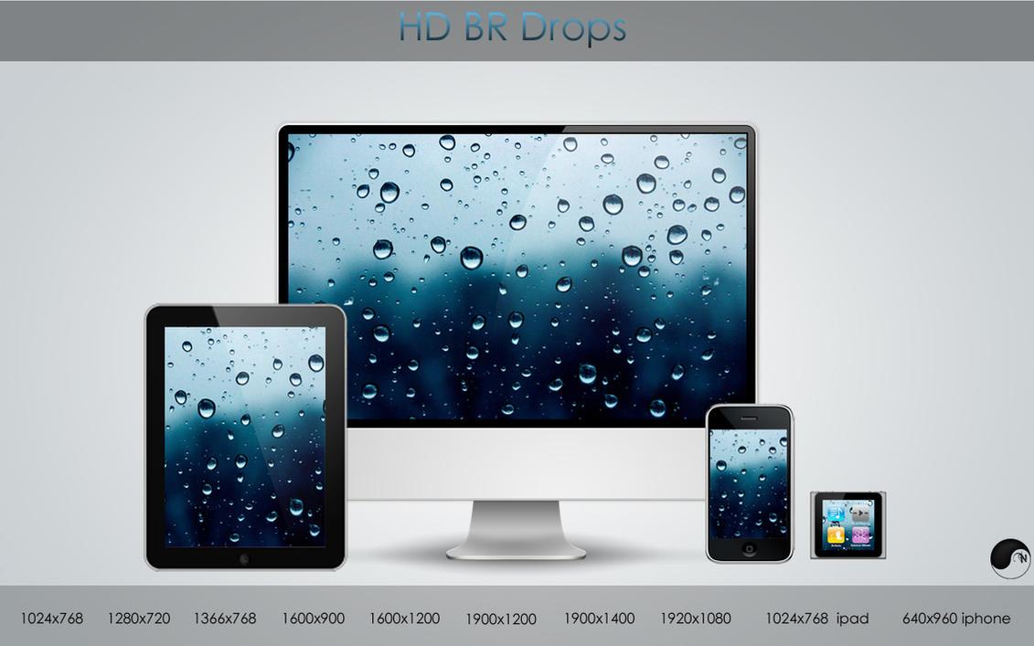 HD BR Drops by nanatrex