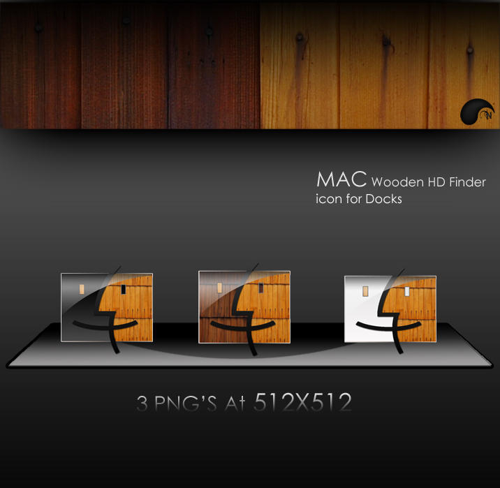 Wooden MAC Finder by nanatrex