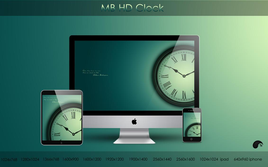 MB HD Clock by nanatrex