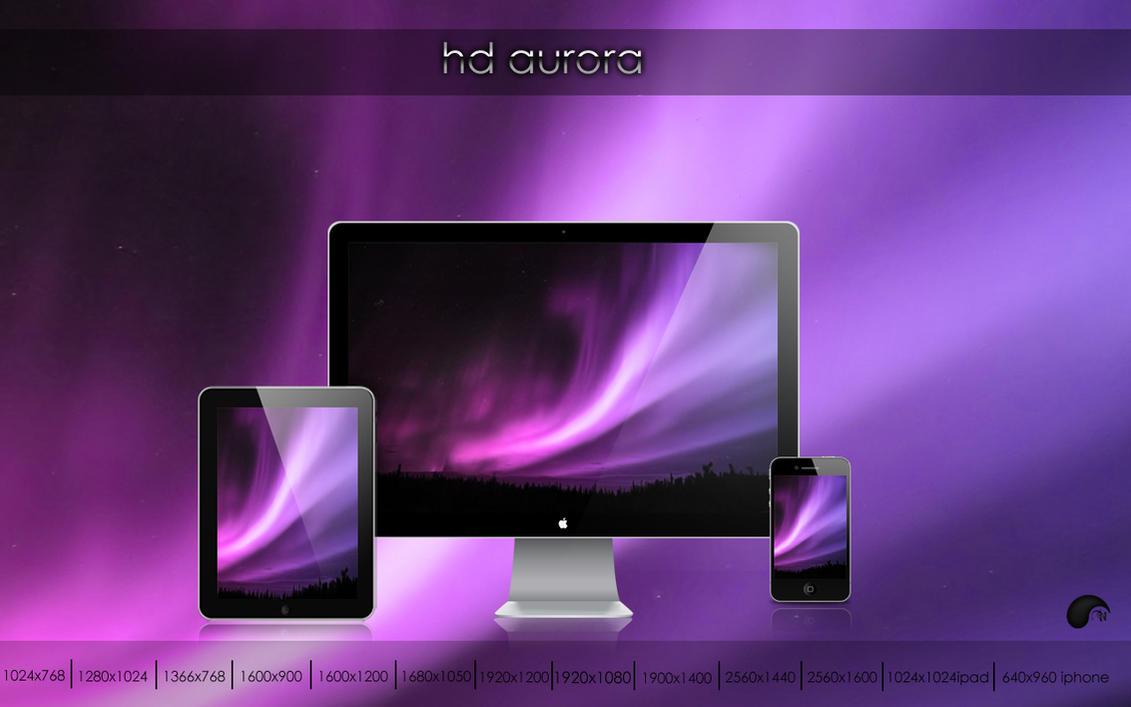 HD aurora by nanatrex