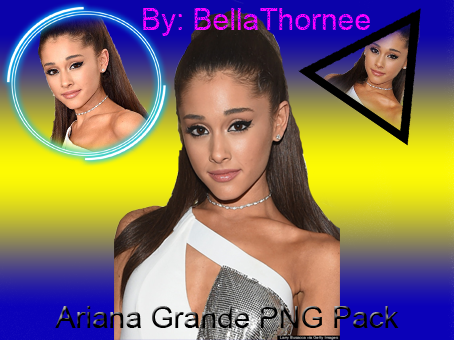 Ariana Grande PNG Pack 2015 by BellaThornee