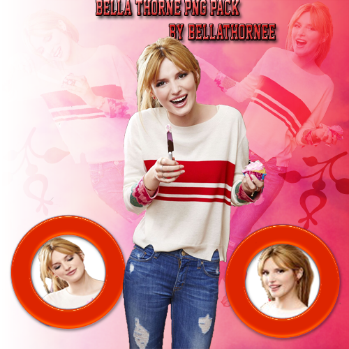 Bella Thorne PNG Pack by BellaThornee
