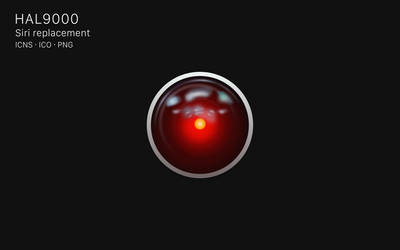 HAL9000 Icon - Siri replacement. by octaviotti