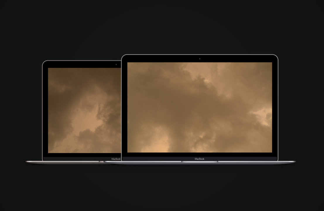 Yellow Storm - Wallpapers by octiviotti