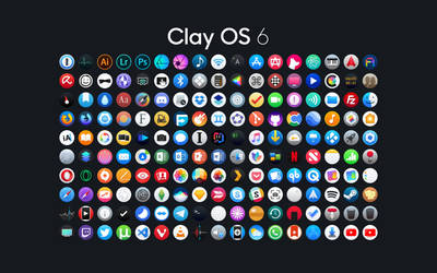 Clay OS 6 - A macOS IconPack by octaviotti