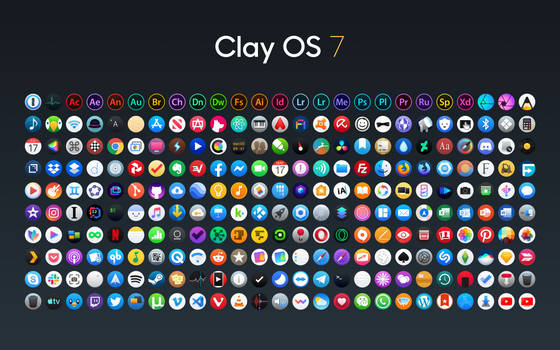 Clay OS 7 - A macOS IconPack by octaviotti