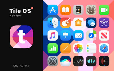 Tile OS 1 - A macOS Iconpack