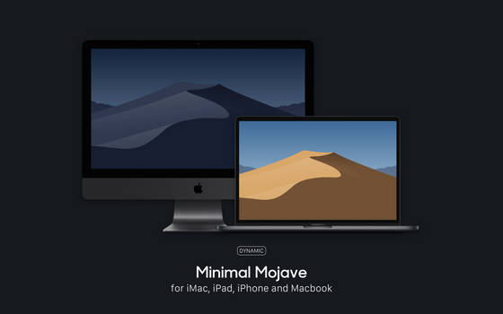 Minimal Mojave - Wallpapers