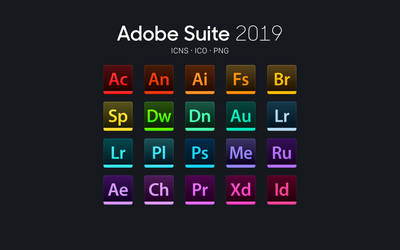 Adobe Suite for macOS - 2019