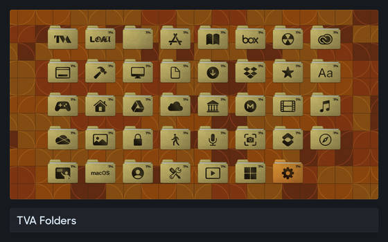 TVA Folders - a macOS IconPack