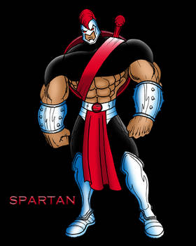 THE GLADIATOR OF THE GODS: SPARTAN!