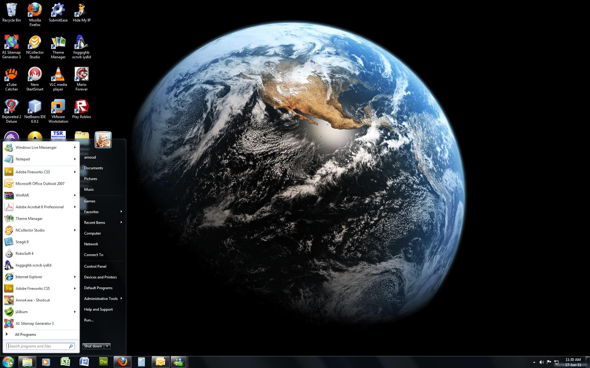 Windows 7 Theme Earth Hd By Windowsthememanager On Deviantart