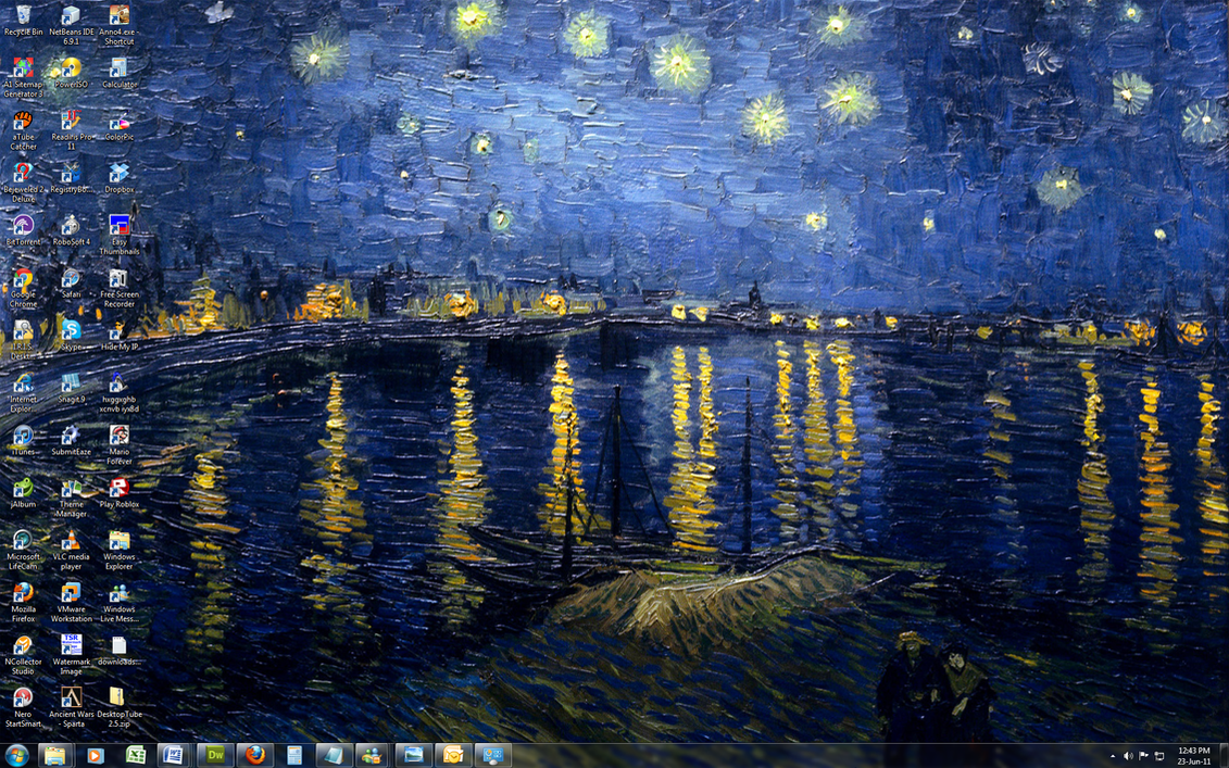 Vincent van Gogh - Win 7 Theme by Windowsthememanager