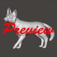 3D Model - Mochi the Fox