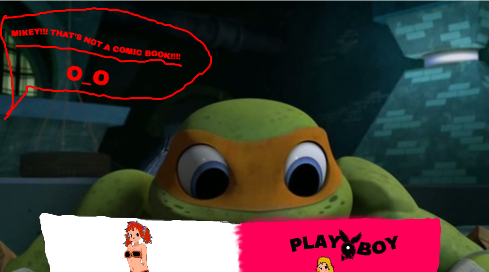 This Is Why Mikey Is Not Allowed In Raph S Room By Andreabunton