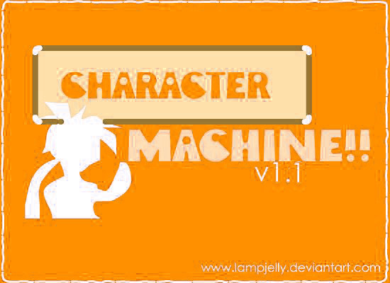 Character Machine v1 2 -Male- by lampjelly on DeviantArt