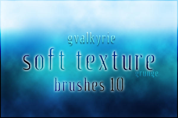GVL Soft Texture brushes by gvalkyrie