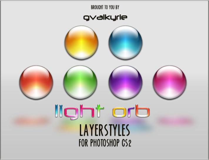 Light Orb LAYERSTYLES by gvalkyrie