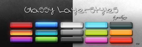 Glassy Layerstyles by gvalkyrie
