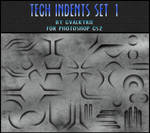 Tech Indents Set 1 - GVL