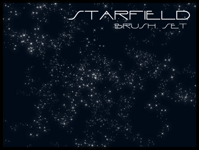 Starfield Brush Set by gvalkyrie