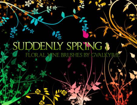 gvl - Suddenly Spring brushes
