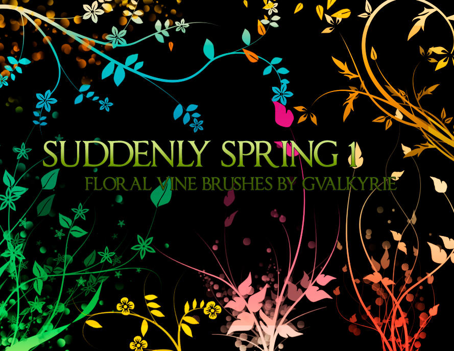 Some Artistic Wallpapers Gvl___Suddenly_Spring_brushes_by_gvalkyrie