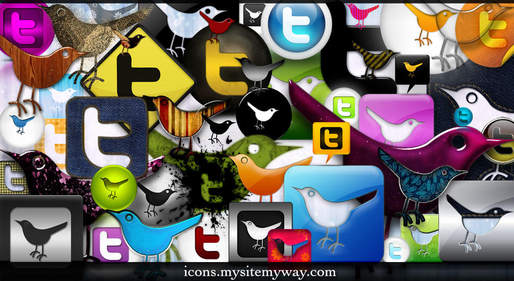 53 Brand New Twitter Icons by WebTreatsETC