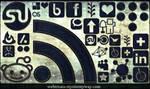 Denim Jeans Social Media Icons