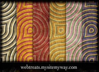 Retro Grunge Wallpaper Pattens by WebTreatsETC