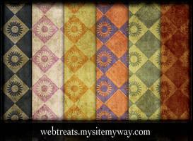 Grunge Wallpaper Patterns by WebTreatsETC