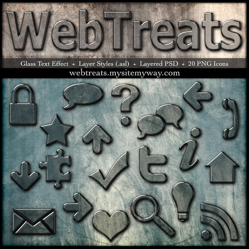 Glass Layer Styles+PSD+Icons By WebTreatsETC On DeviantArt