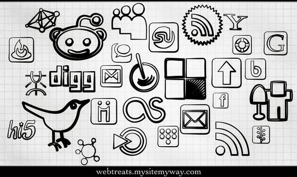 Magic Marker Icons