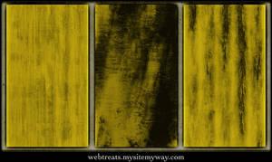 Seamless Grungy Gold Textures