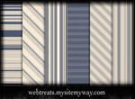 9 Blue Striped Patterns