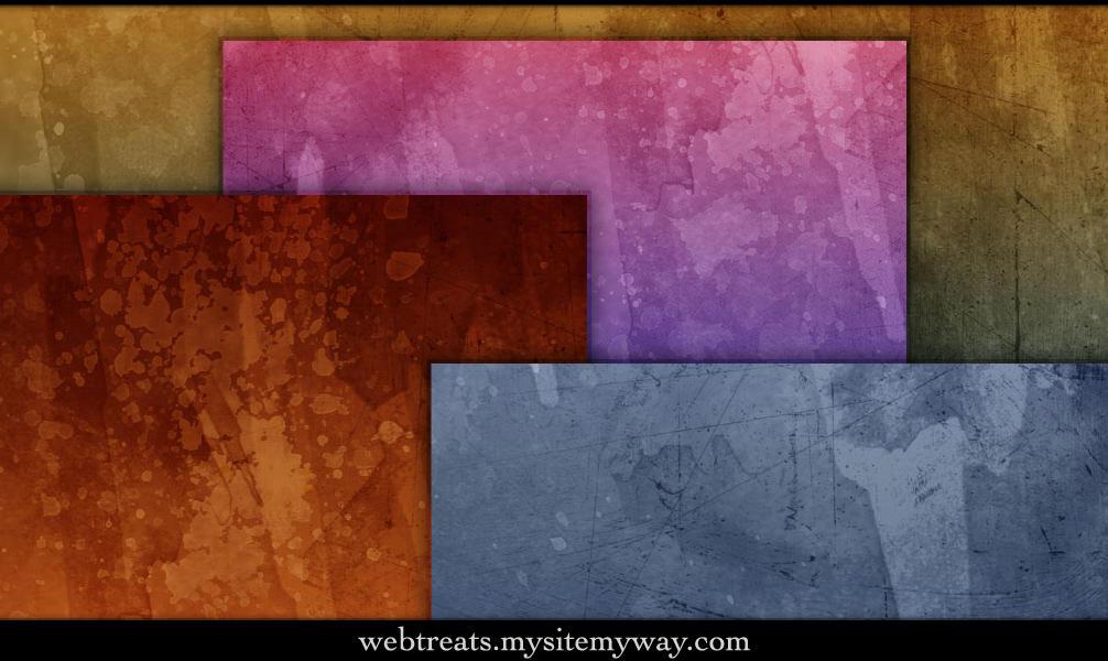 Grungy Watercolor Textures by WebTreatsETC