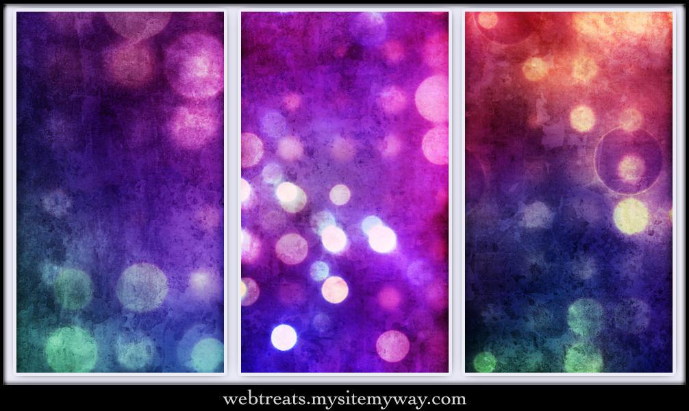 Grungy Abstract Bokeh Textures by WebTreatsETC