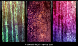 Vibrant Grunge Textures by WebTreatsETC