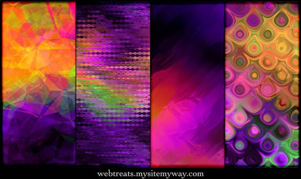Exotic Purple Patterns
