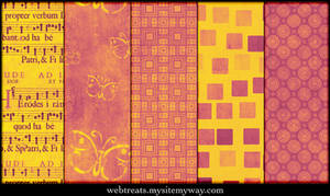 Warm Pink Grunge PAtterns