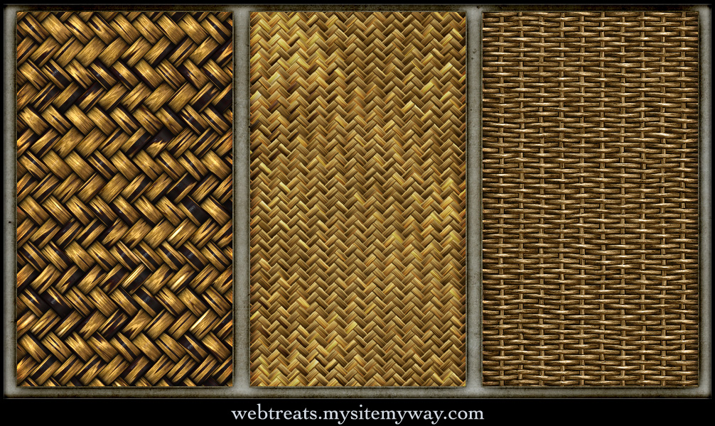 Tileable Basket Weave Textures