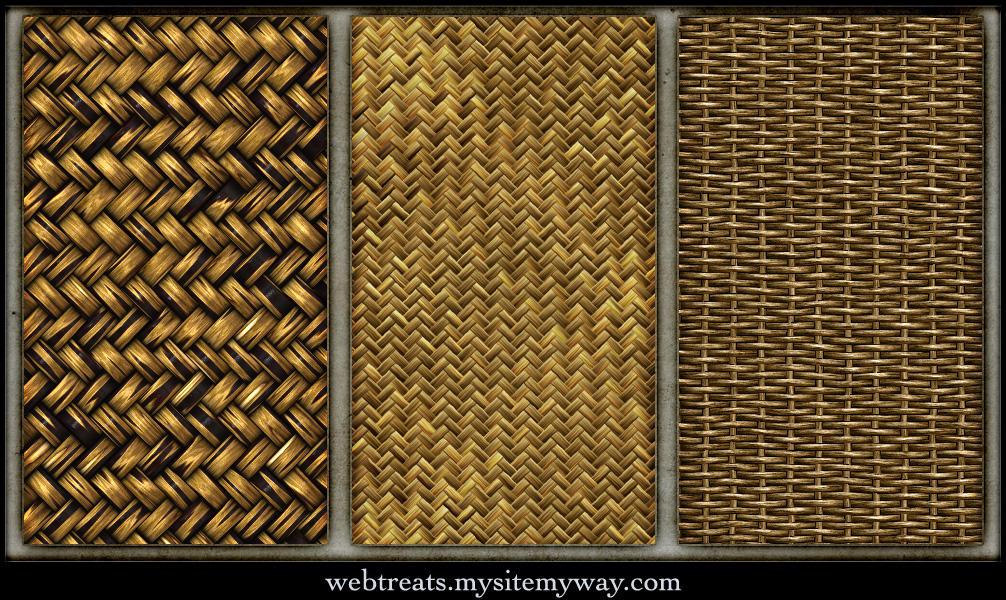 Tileable Basket Weave Textures by WebTreatsETC