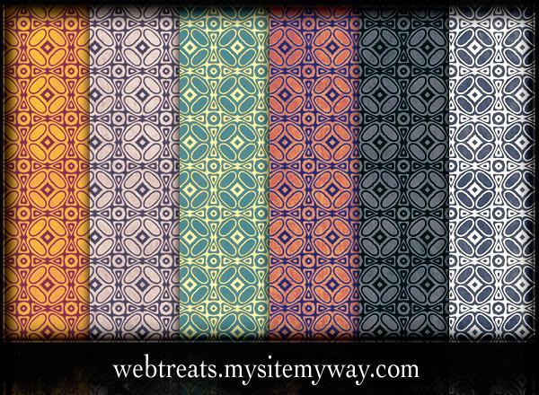 Grungy Vintage Patterns Part 2 by WebTreatsETC