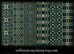 Ornate Royal Green Patterns