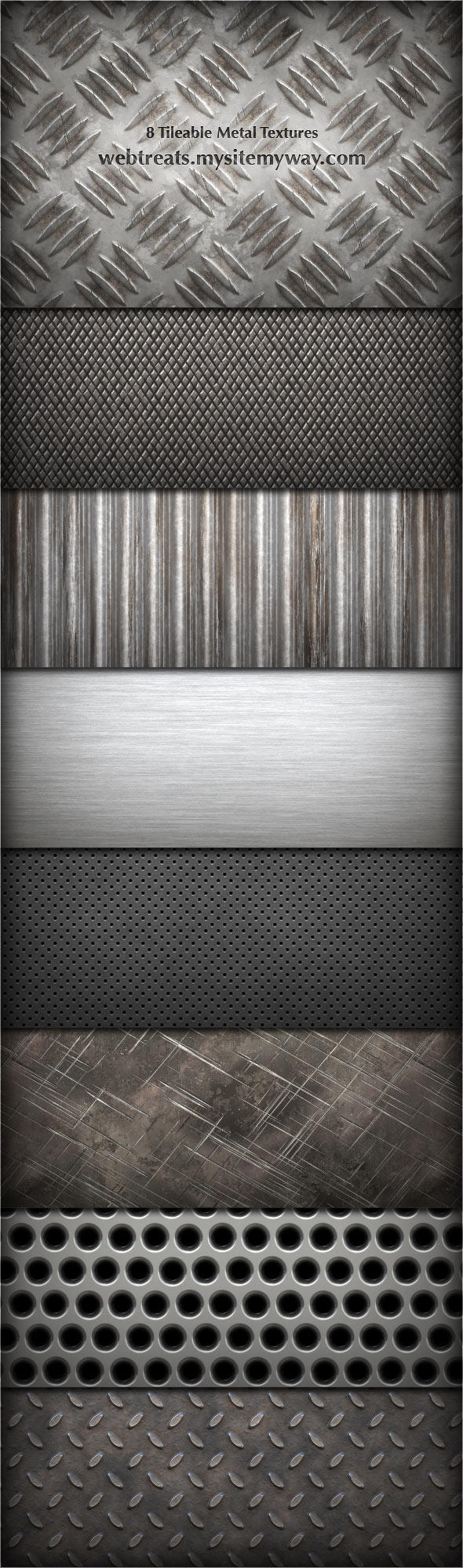 8 Tileable Metal Textures By Webtreatsetc On Deviantart