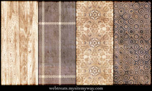 Grungy Natural Beige Patterns