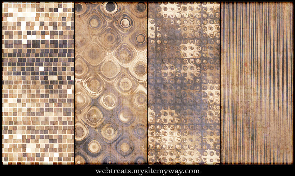Natural Beige Patterns Part 2 by WebTreatsETC